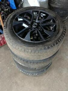 205 55 16 Michelin tires on OEM Honda Civic alloy rims 5x114.3 from $700 set of 4 / 205 55 16 - 215 55 16 tires in stock