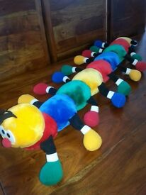 Adorable and cuddly caterpillar