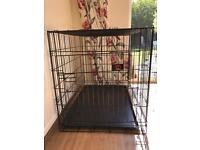 Medium sized dog crate - UNUSED and brand new just out of box!