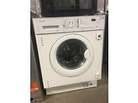 John Lewis JLBIWM1403 Integrated Washing Machine, 7kg Load, A++ Energy Rating, 1400rpm Spin, White