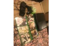 selling xbox comes with 6 games including fifa 18 1 pad and charging station