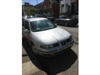 2000 Seat Leon 1.6 petrol manual 5 door car for sale.