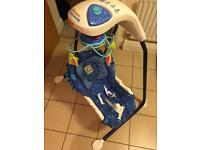 Ocean wonders aquarium baby swing