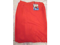 Pair of Red Dunlop Golf Trousers 34S £8