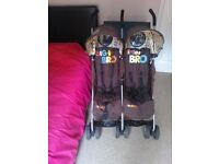 COSATTO DOUBLE STROLLER IDEAL FOR HOLS