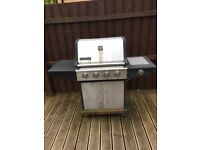 Grill tech BBQ four burner for sale
