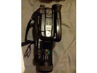 old Panasonic camcorder