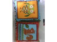 Set of 4 Kids Cushions