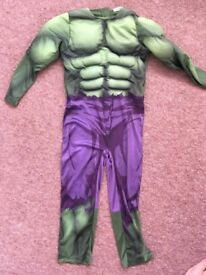 Kids fancy dress hulk costume