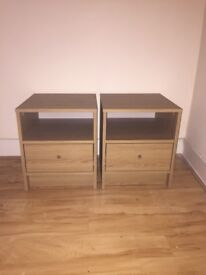 Two Bedside Lockers for collection ASAP!