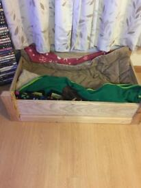 Home made dog bed