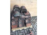 Reclaimed ACME plain clay roof tiles