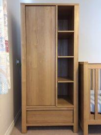 Next nursery furniture (wardrobe & changing table)