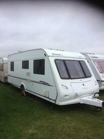 Elddis odyssey sunstyle fixed bed