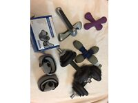 Hand Weights and Dumbbells various