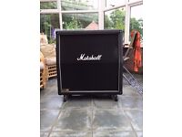 Marshall 1960a 4 x 12 Angled Speaker Cabinet - EXCELLENT CONDITION WITH PADDED COVER