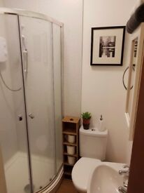 Double room available end of July in friendly houseshare (all bills incl). Regular cleaner too.