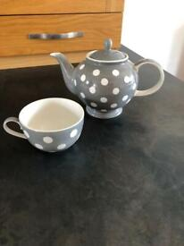 Whittard teapot and cup