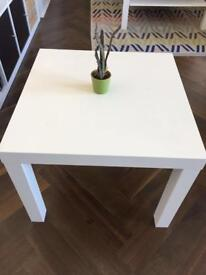 Ikea white coffe table