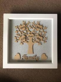 Family tree picture frames