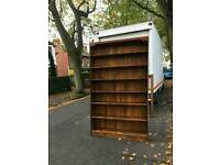Very nice solid solid pine wood book shelves