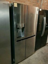 Ex Display LG Stainless Steel A+++ Frost Free American F-F With Ice Maker And Water Dispenser