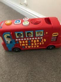 V Tech play bus