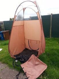 spray tan machine and tent