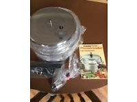 Tower Tower Pressure Cooker. As new, still in box, with information booklet.