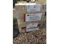 New pallet of Buff bricks