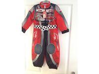 Lightning McQueen race suit 2-3 years