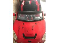 Battery operated 2 seater mini