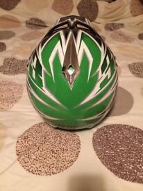 Motor cross atv helmet excellent condition demon large