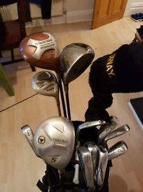 Titleist taylormade mazuno and lynx golf clubs