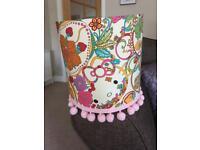 Hello Kitty Liberty fabric lamp shade