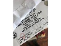 The manic street preachers tickets Manchester 3 MEN arena