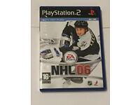 NHL 06 Playstation 2