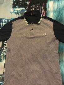 Men's Fred Perry Polo Shirt Medium