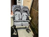Joie twin pushchair