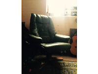Armchair Reclinable Green For Sale