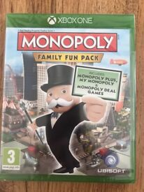 Hasbro monopoly family fun pack