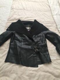 7/8 girls leatherette jacket