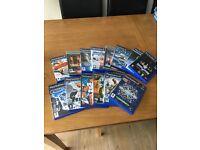 Range of PS2 games