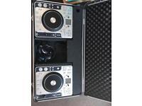 Stanton cdj c314 DJ turntables and Stanton Carry Case