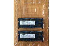 Original ELPIDA 4GB PC3-12800S RAM