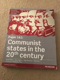 EDEXCEL AS/A LEVEL HISTORY Paper 1&2 Communist States in the 20th Sentury