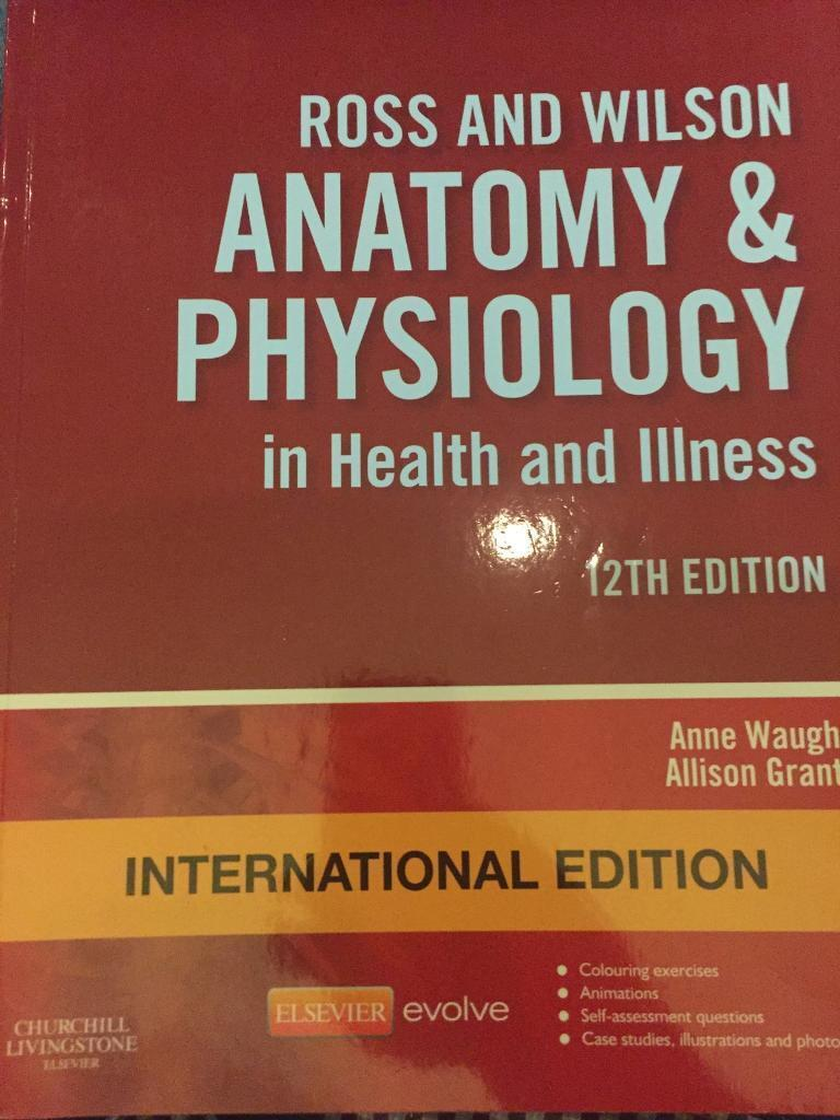 Anatomy & Physiology in Health and Illness | in Stafford ...
