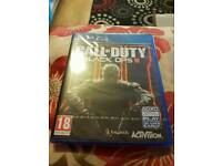 call of duty black ops ps4 new in cellophane