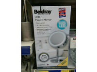 NEW Beldray LED Vanity Mirror