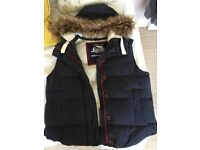 Ladies SuperDry Quilted Gilet